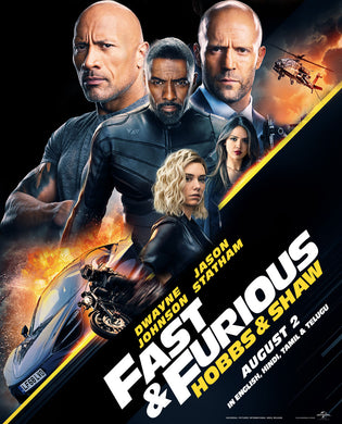 Fast & Furious Presents: Hobbs and Shaw Vudu HD (preorder)