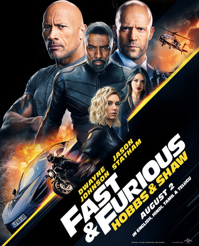 Fast & Furious Presents: Hobbs and Shaw Vudu HD (instawatch)