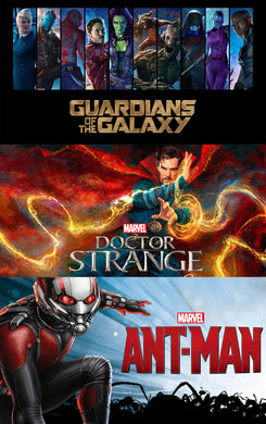 Ant-man, Doctor Strange, and Guardians of the Galaxy (googleplay)