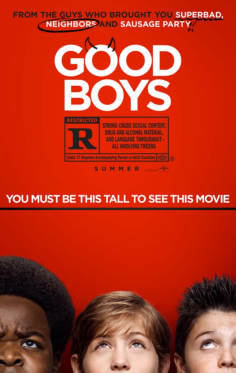 Good Boys Vudu HD