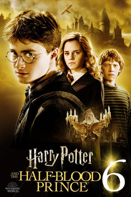 Harry Potter And The Half Blood Prince HDX Vudu Instawatch
