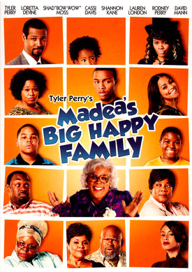 Tyler Perry's Madea's Big Happy Family HDX Vudu Instawatch
