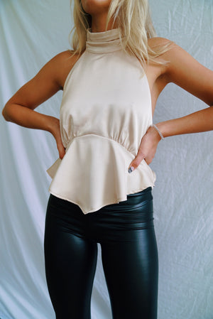 Champagne Night Top