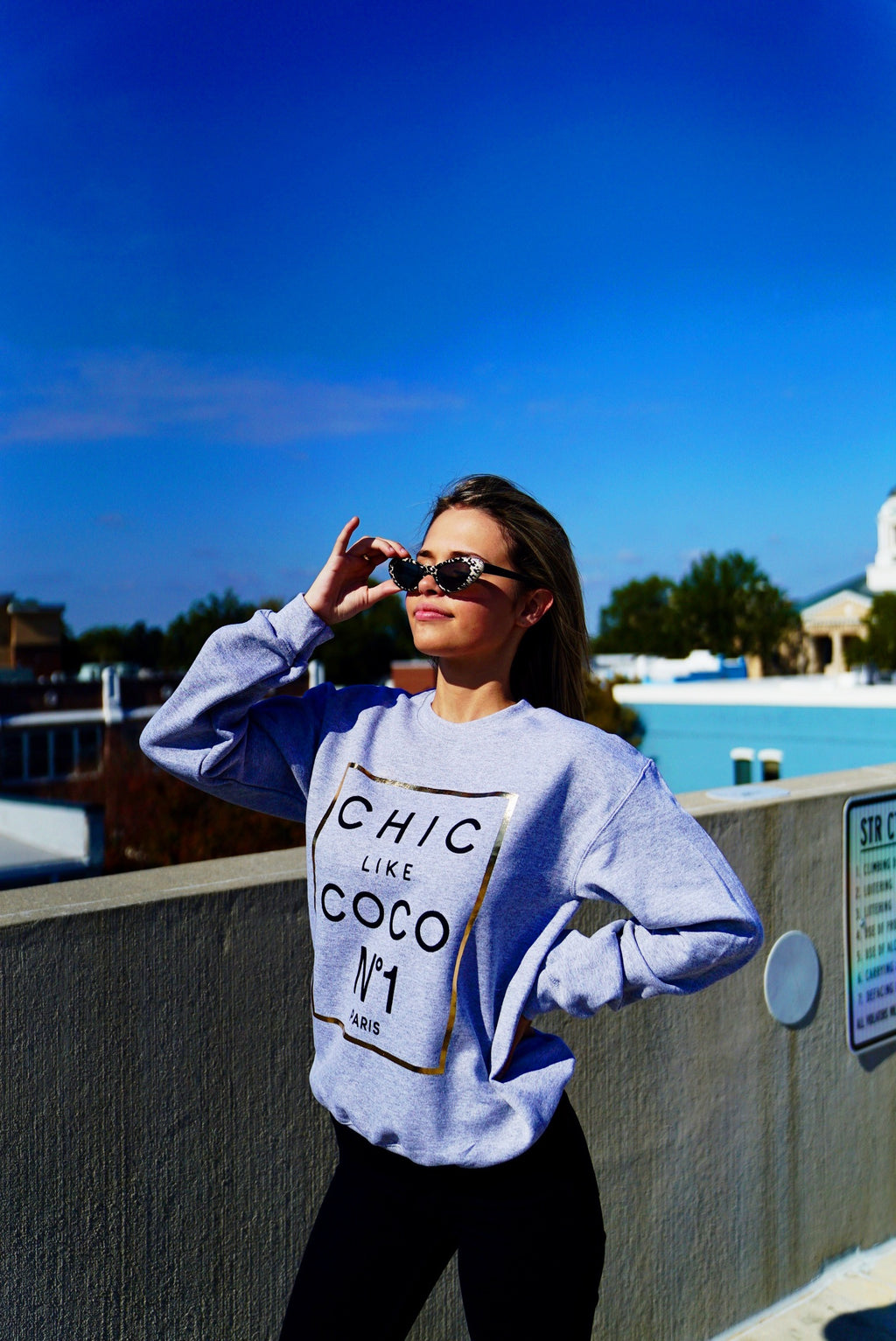 Chic Like Coco Sweatshirt