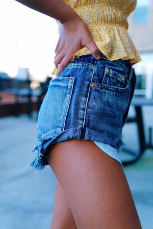 High Roller Denim Shorts