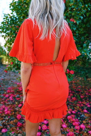 Strawberry Sunset Dress