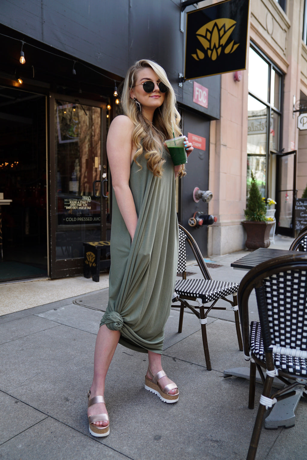 Free The People Maxi- Olive