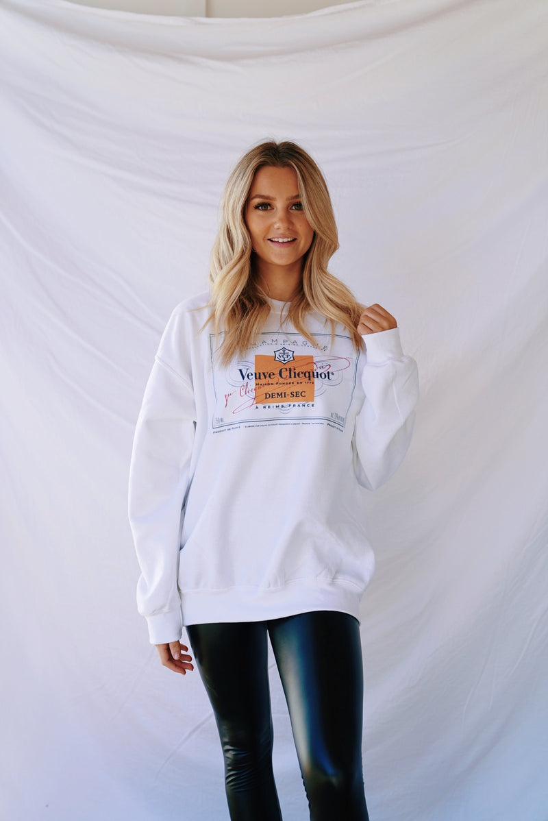Veuve Label Sweatshirt