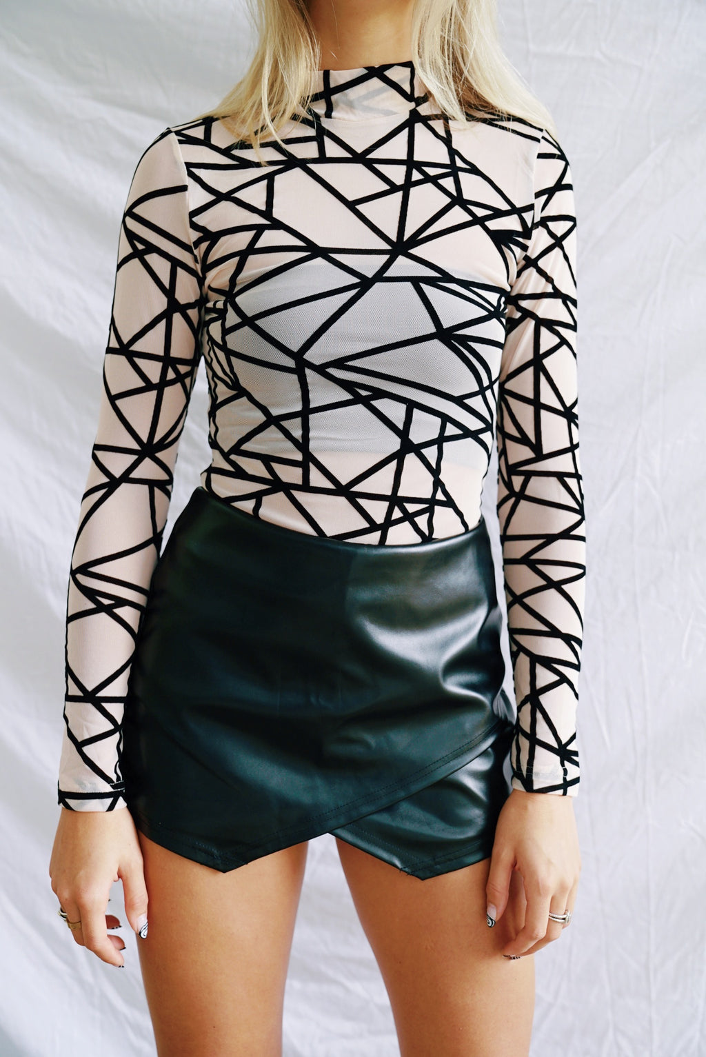 Geometric Bodysuit