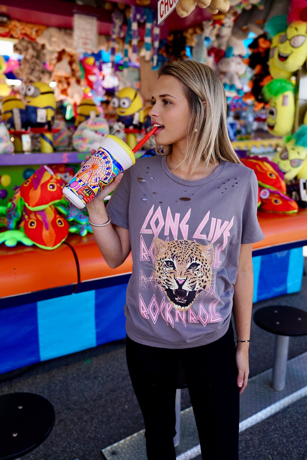 Long Live Rock n' Roll Graphic Tee