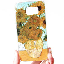 Load image into Gallery viewer, (On Sale!) Van Gogh Sunflower (Samsung Galaxy s6)