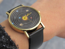 Load image into Gallery viewer, (On Sale!) Solar System Watch  (6 Strap Colors available)