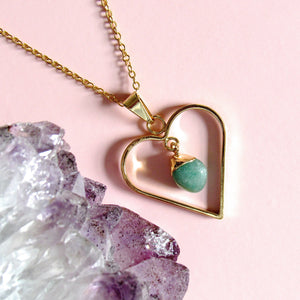 Sweetheart Aventurine Necklaces
