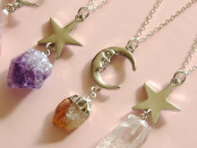 Load image into Gallery viewer, Crystals of Stardust Necklaces (5 Choices)