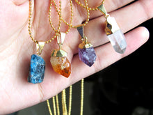 Load image into Gallery viewer, Quartz Point Chokers