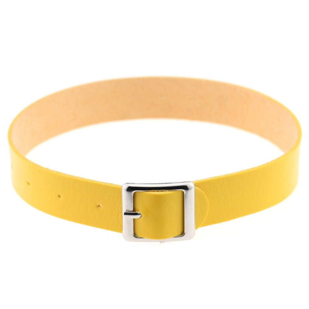 Yellow Buckle Choker