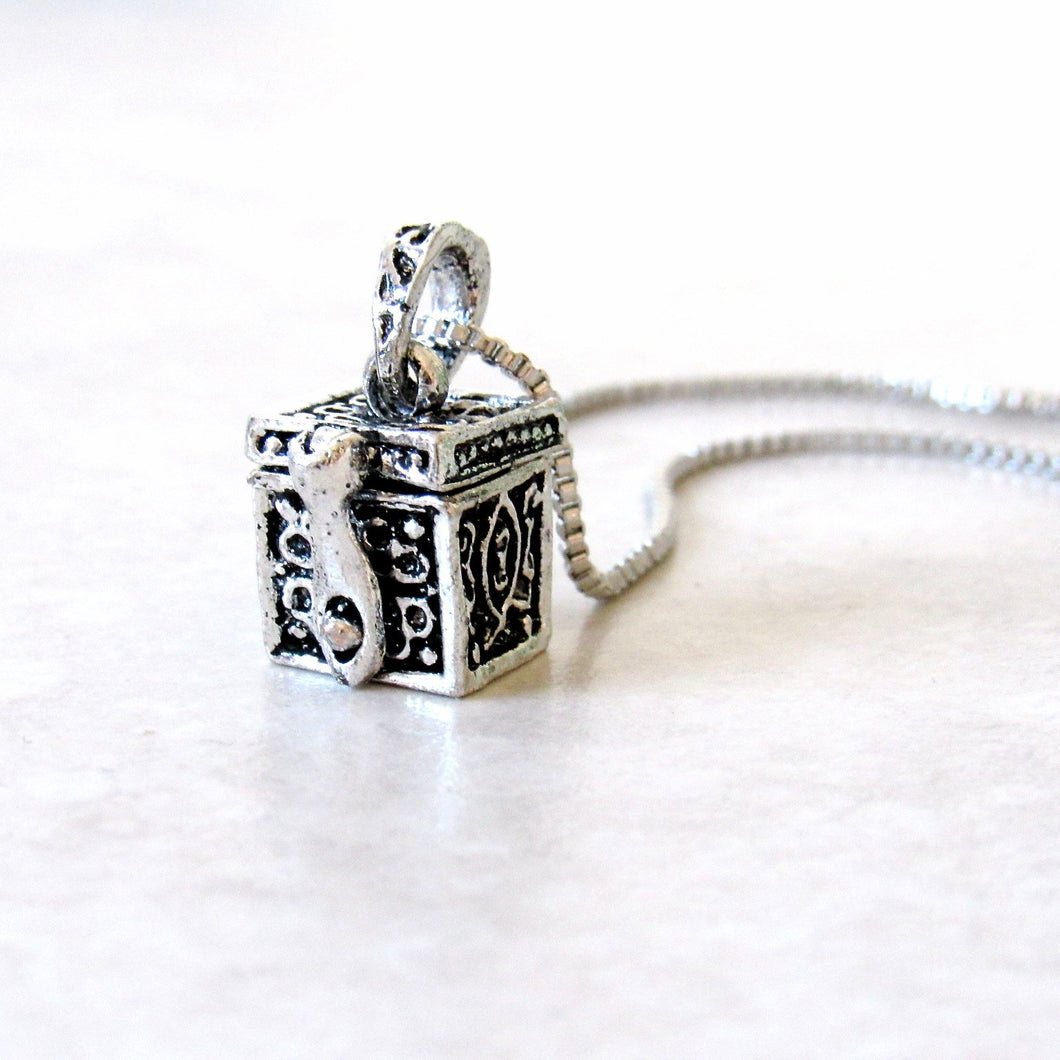Box of Love Necklace
