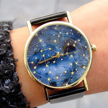 Load image into Gallery viewer, (On Sale!) Constellation Watch (6 Strap Colors Available)