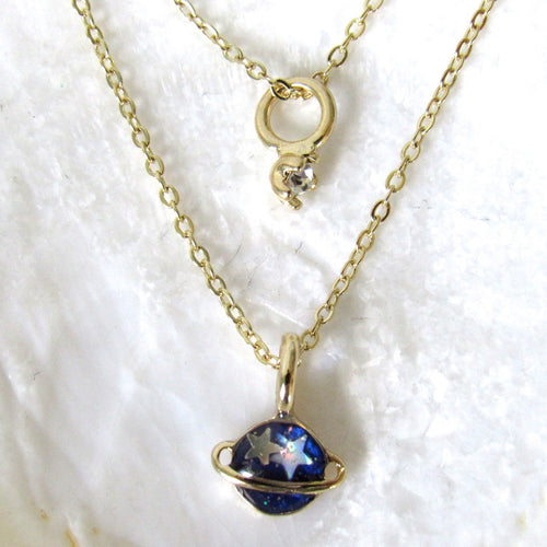 Celestial Planet Necklaces