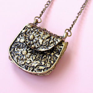 (On Sale!) Purse Locket Necklace