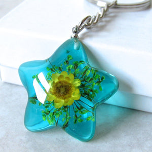 (On Sale!) Blooming Star Real Flower Necklaces
