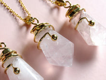 Load image into Gallery viewer, Twilight Rose Quartz Necklaces