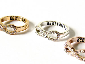 Friends For Life Ring Set (2 Piece)