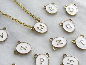 (New!) Personalized Initial Chokers