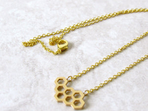 Honeycomb Necklaces