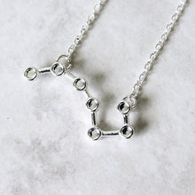 Load image into Gallery viewer, Big Dipper Constellation Necklace