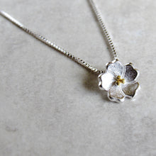 Load image into Gallery viewer, Sterling Silver Blossom Necklaces