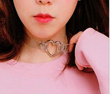 Load image into Gallery viewer, Red Heart Choker