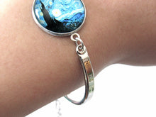 "Load image into Gallery viewer, Van Gogh ""The Starry Night"" Bracelet"