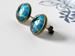 "Van Gogh ""The Starry Night"" Earrings"