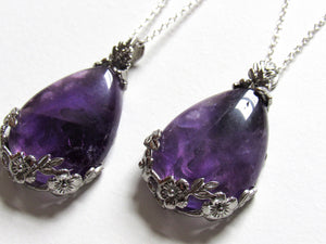 Blooming Amethyst Necklaces