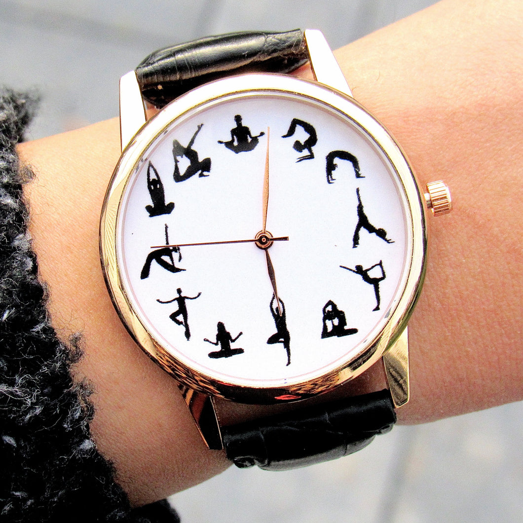 (On Sale!) Yoga Poses Watch