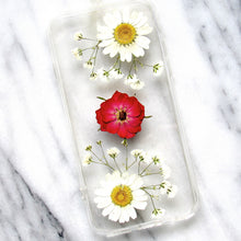 Load image into Gallery viewer, Lovely Daisies Real Flower Case (iPhone 6/6s)