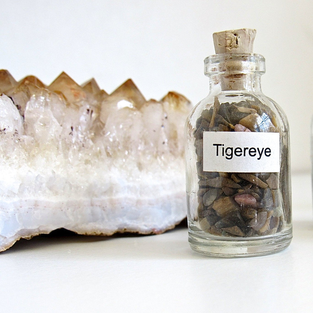 (On Sale!) Vial of Tigereye