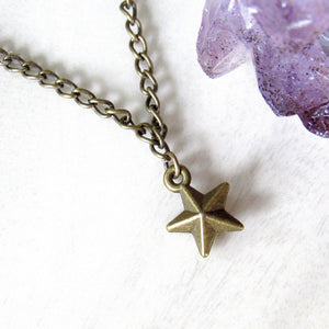Bronze Star Choker
