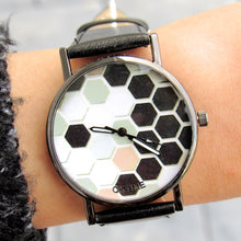 Load image into Gallery viewer, (On Sale!) Honeycomb Watch (7 Strap Colors Available)