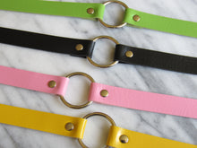 Load image into Gallery viewer, Yellow Hoop Choker