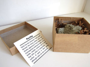 Gift Boxed Pyrite Cluster