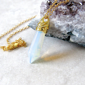 Opalite Stone Necklaces
