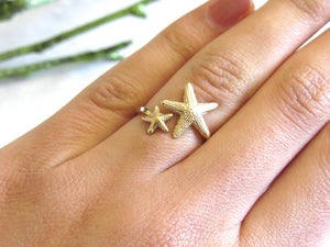 (On Sale!) Starfish Ring