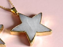 Load image into Gallery viewer, (New!) Golden Dolomite Star Necklaces