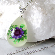 Load image into Gallery viewer, (On Sale!) Spring Showers Real Flower Necklaces