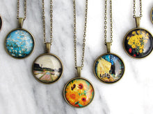"Load image into Gallery viewer, Van Gogh ""Bulb Fields"" Necklace"