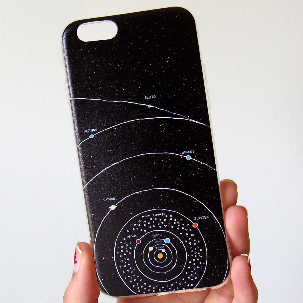 (On Sale!) TPU Solar System Case (iPhone 6/6s)