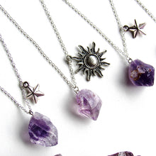 Load image into Gallery viewer, Skygazer Amethyst Necklaces (2 variations)