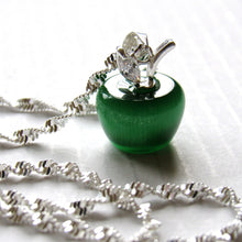 Load image into Gallery viewer, Green Apple  Necklace